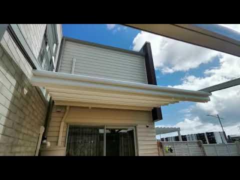 Omega Pergola Retractable Roof Auckland