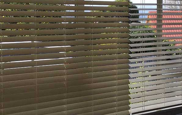 PVC venetian blinds in Hobsonville