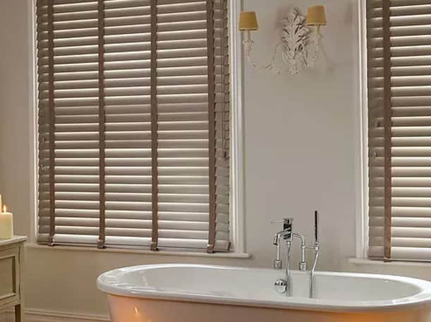 Blinds for bathrooms in Auckland