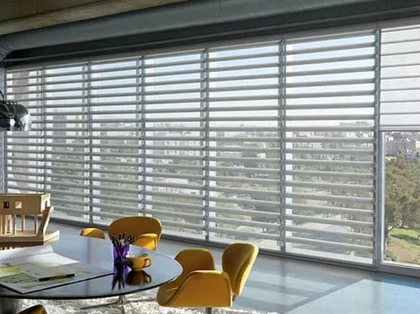 Modern Office Blinds Custom Made Window Shades Sunguard