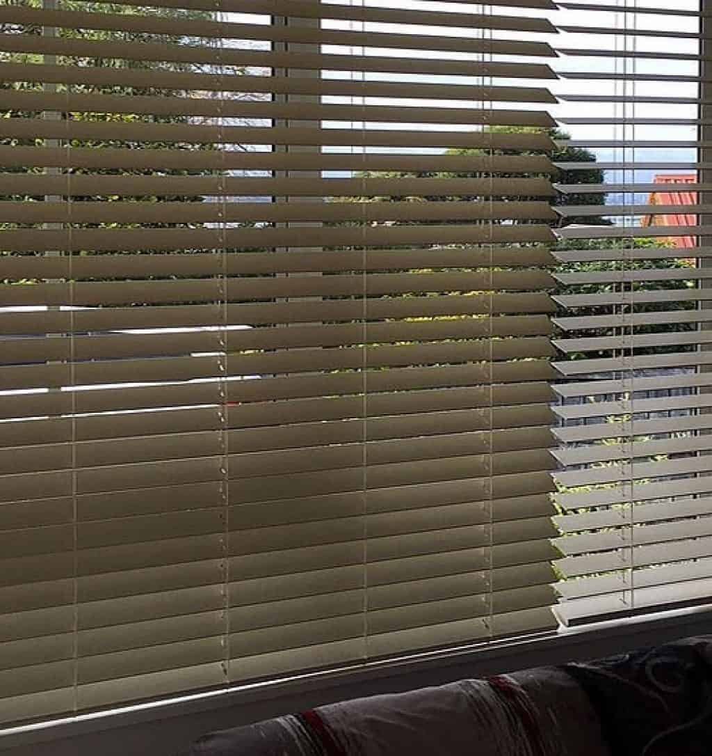 Wooden venetian blinds in Hobsonville