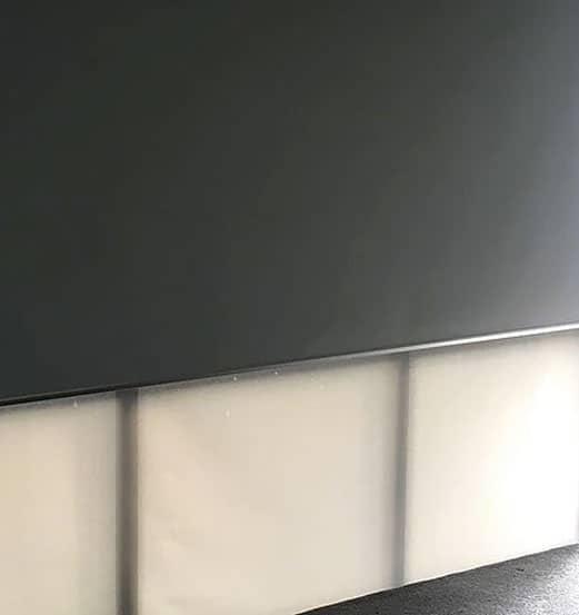 Dual roller blinds in Epsom