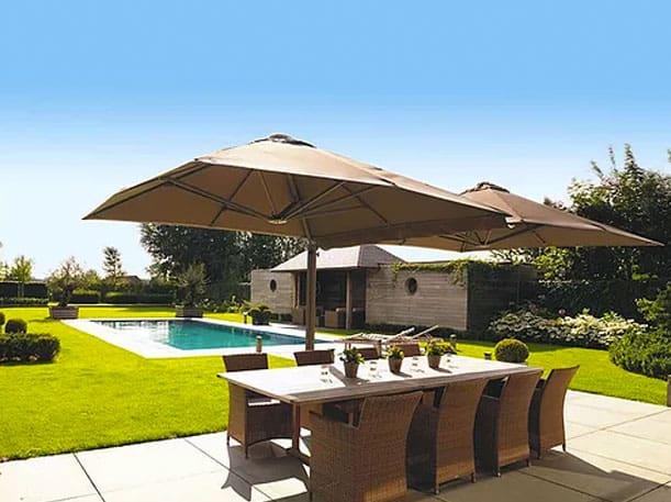 Umbrella canopies in Auckland