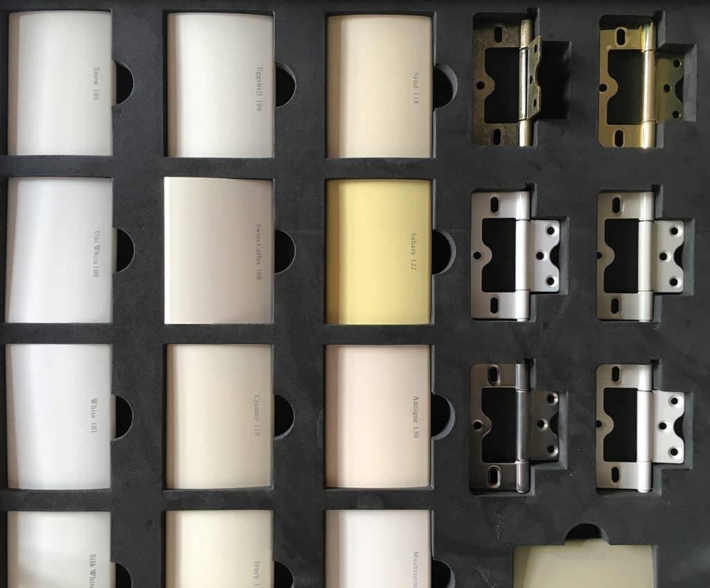 PVC shutters blades
