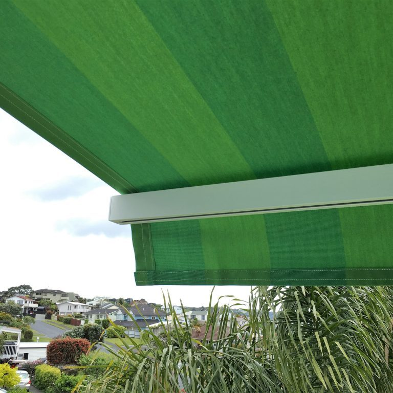 Manual folding arm awning in Snells Beach