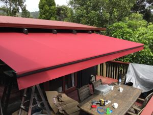 Horizon Monobloc awning in Henderson Valley
