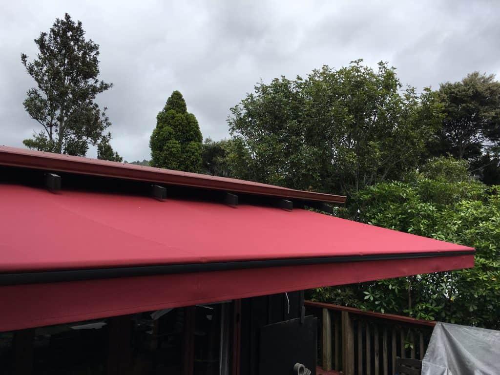 Horizon Monobloc awning in Henderson Valley