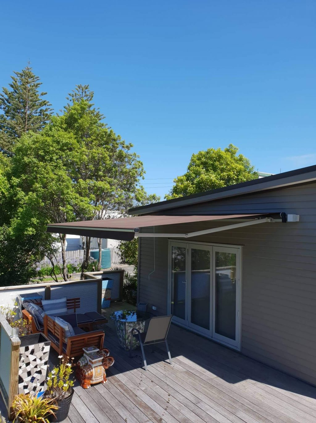 Horizon Retractable Awning in Maraetai