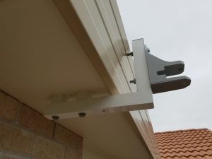 Custom made awning bracket