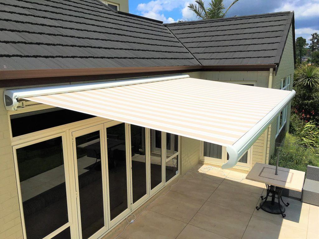 Folding arm awnings Auckland