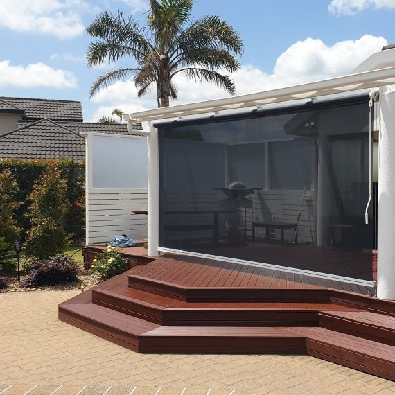 Shadeview Mesh Fabric Omni Screen in Waiuku