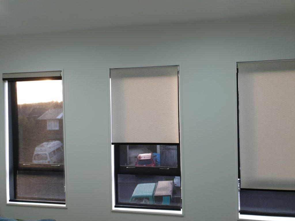 Light Filtering Roller Blinds Flat Bush