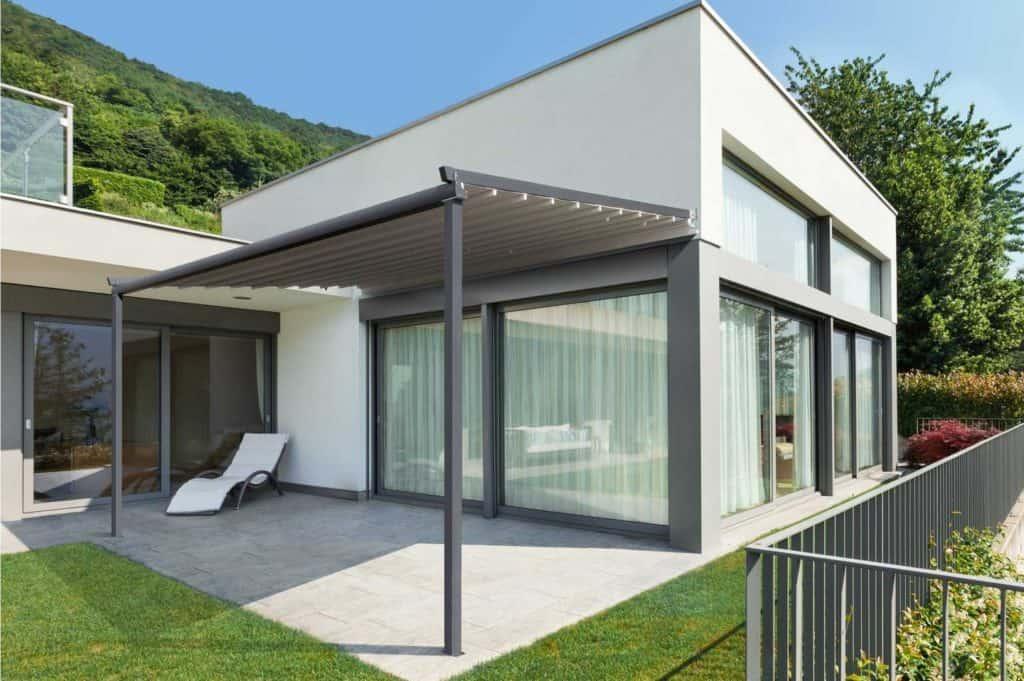 Omega Pergola Retractable Roof