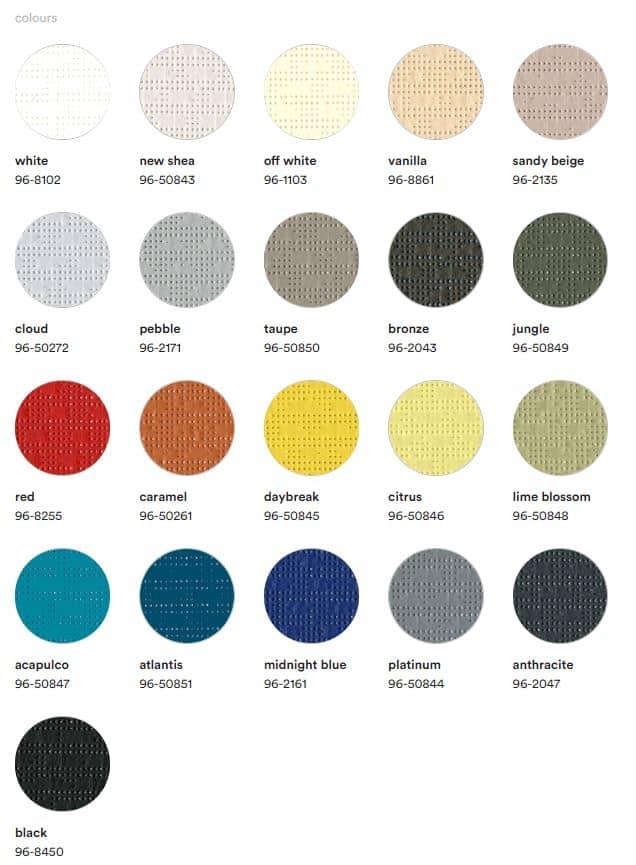 Serge Ferrari Lounge 96 colours