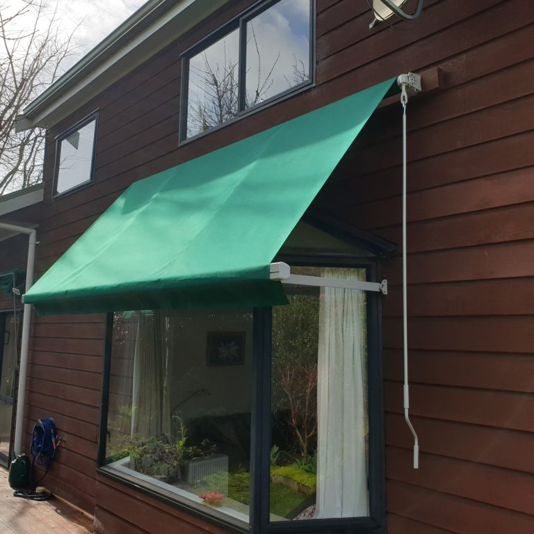 Vertigo drop arm awning Northcote