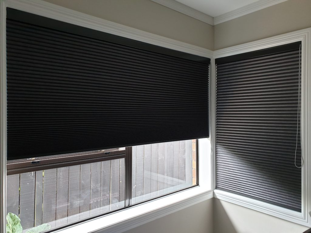 Blockout honeycomb blinds