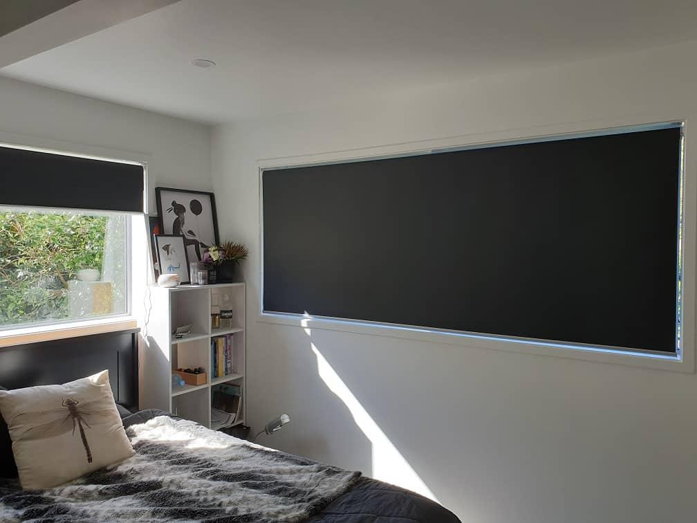 Blackout roller blinds in Glenfield