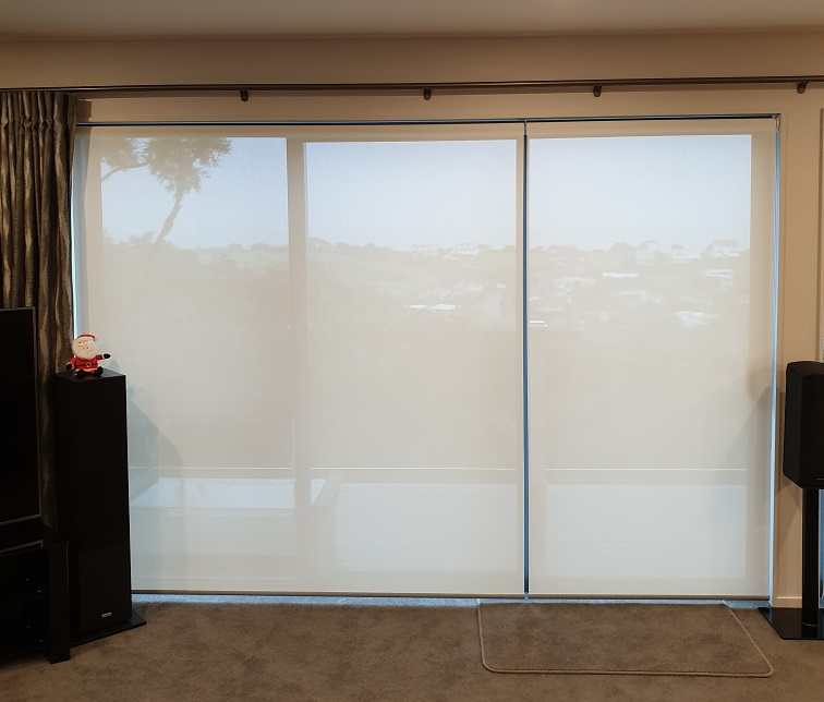 Sunscreen roller blinds Whangaparaoa