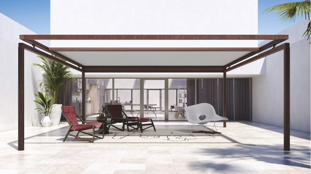 Frame Retractable Roof