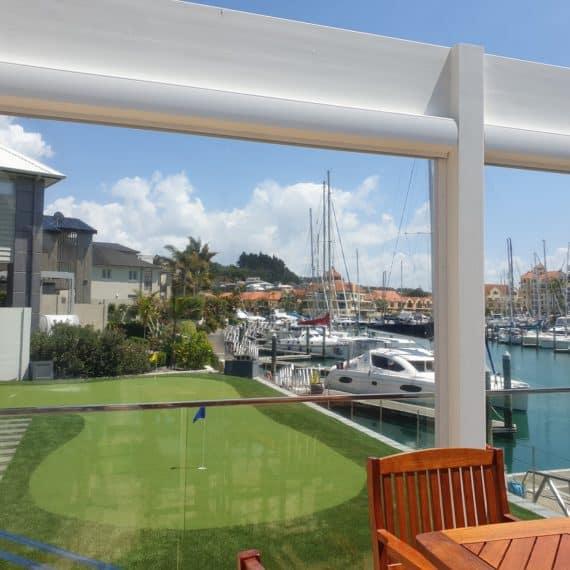 Clear PVC Ziptrak Gulf Harbour