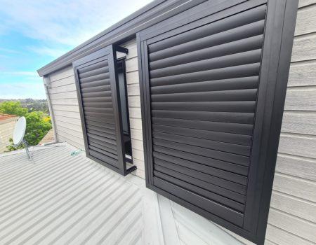 Outdoor shutters in Remuera