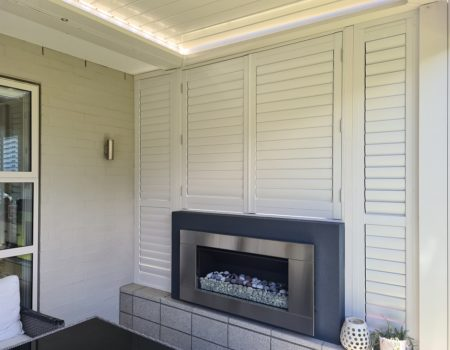 Aluminium outdoor shutters