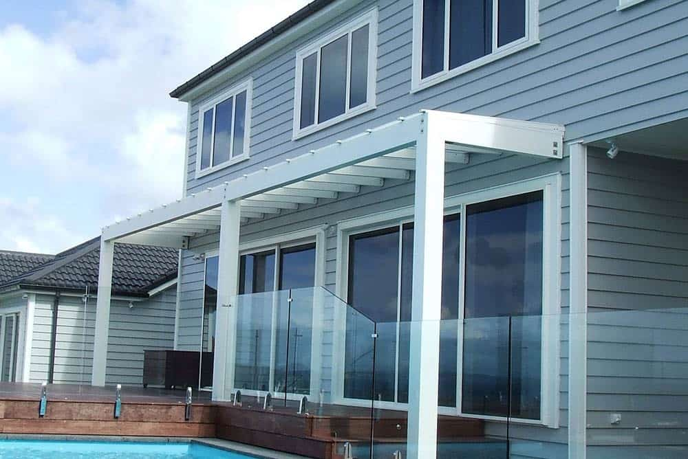 ClearVue Pergola with Diffused panels