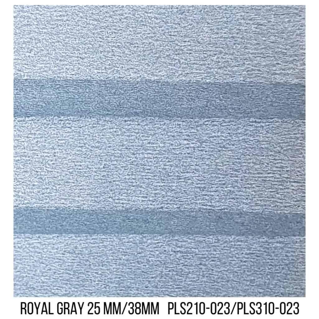 Royal Gray 25/38 Plain LF - Single Cell