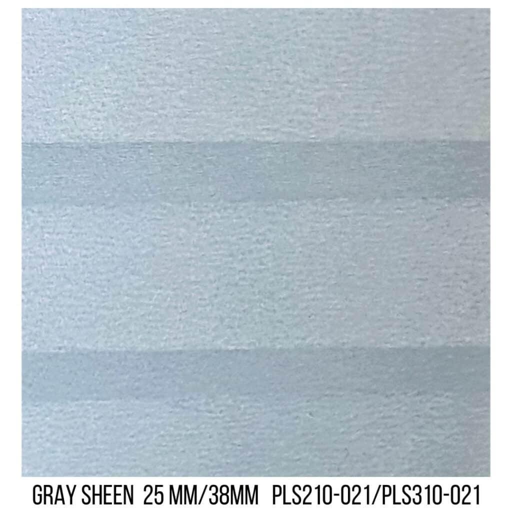 Gray Sheen 25/38 Plain LF - Single Cell