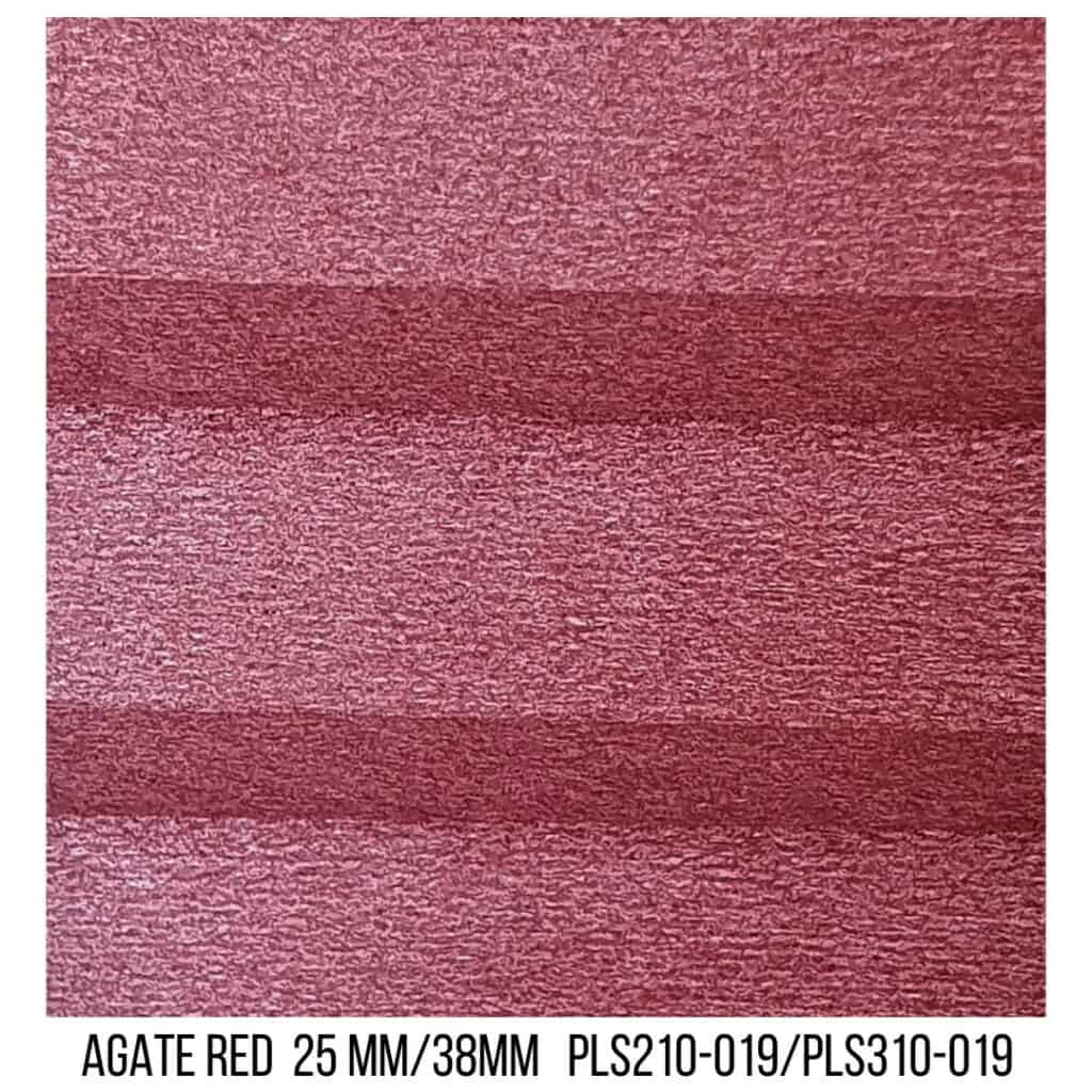 Agate Red 25/38 Plain LF - Single Cell