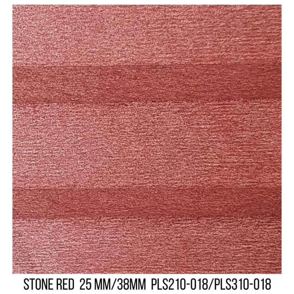 Stone Red 25/38 Plain LF - Single Cell