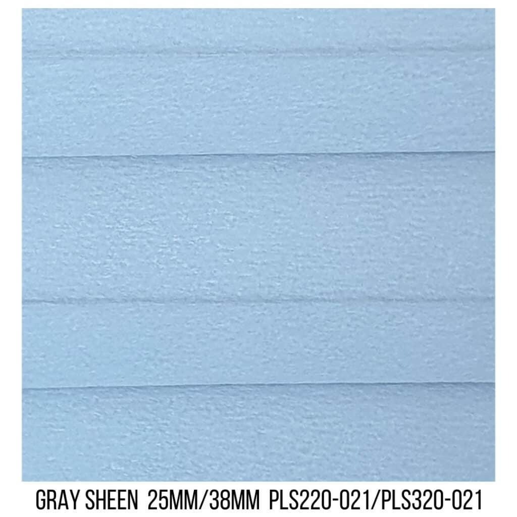 Gray Sheen 25/38 Blockout - Single Cell