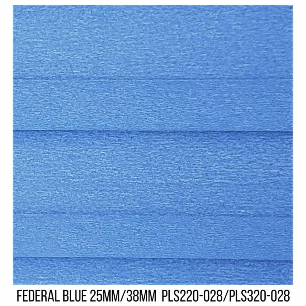 Federal Blue 25/38 Blockout - Single Cell