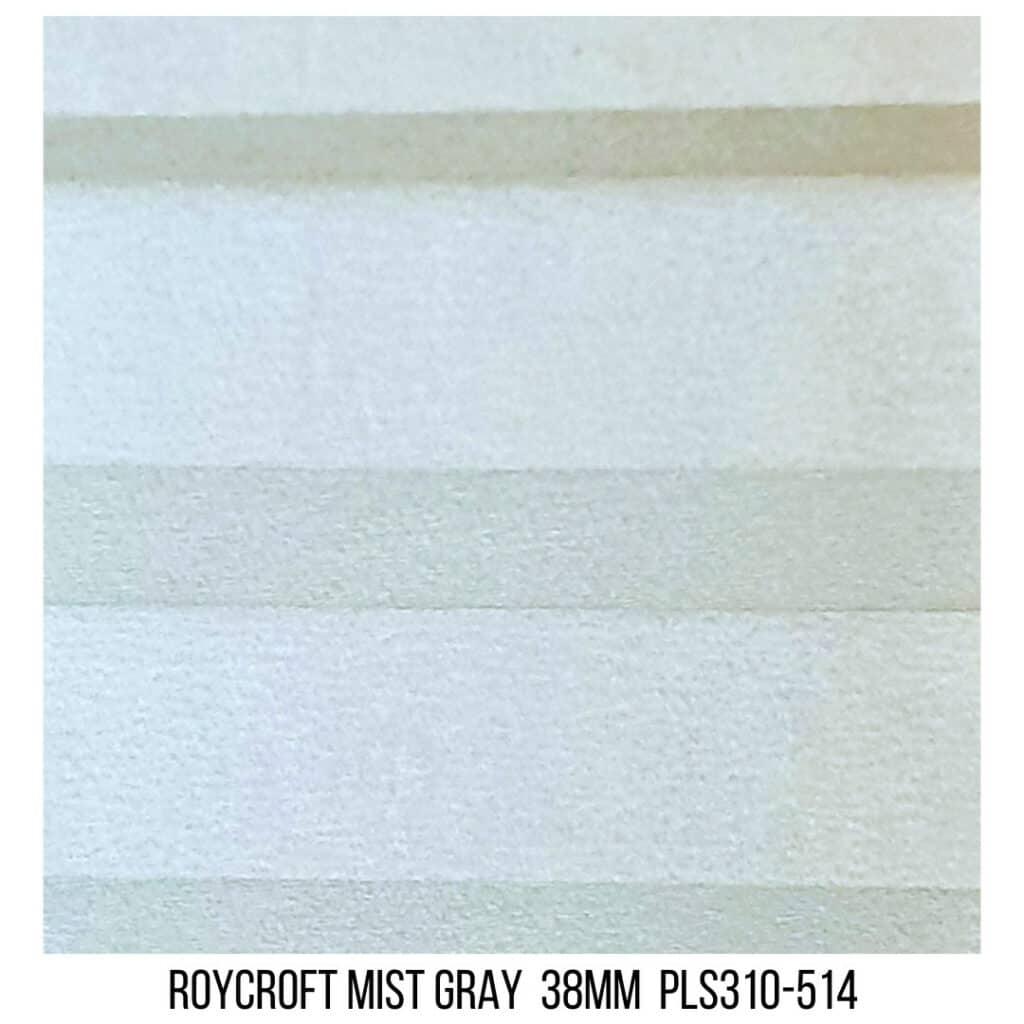 Roycroft Mist Gray 38 Plain LF - Single Cell