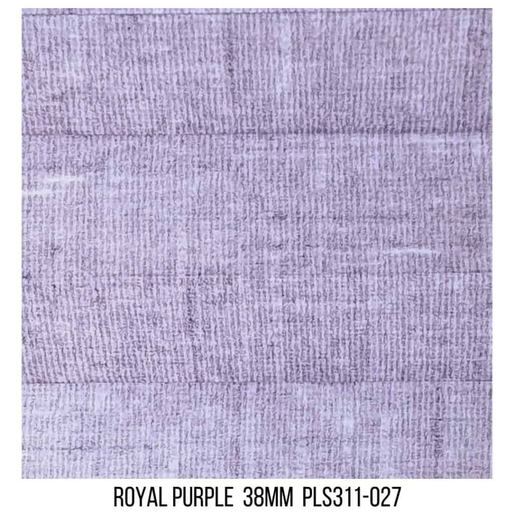 Royal Purple 38 Washed LF - Single Cell