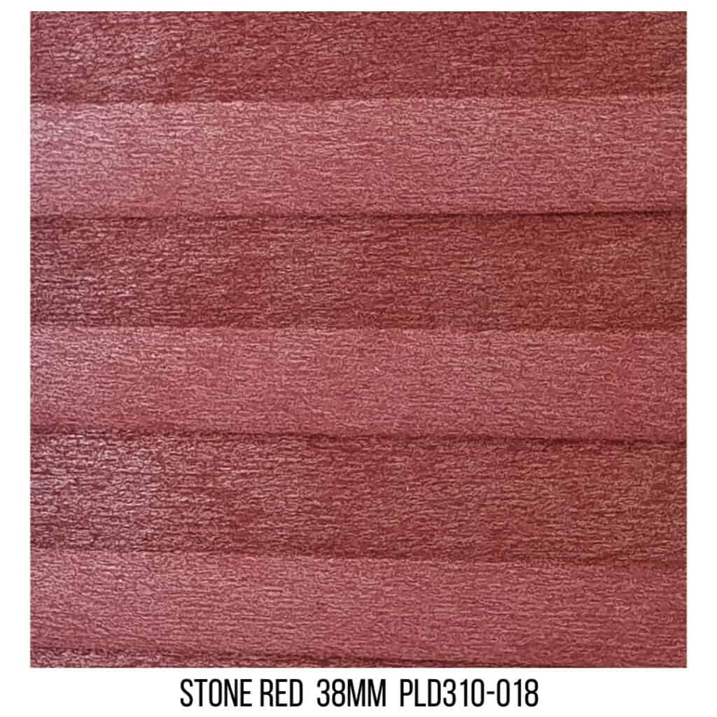 Stone Red 38 Light Filtering - Double Cell