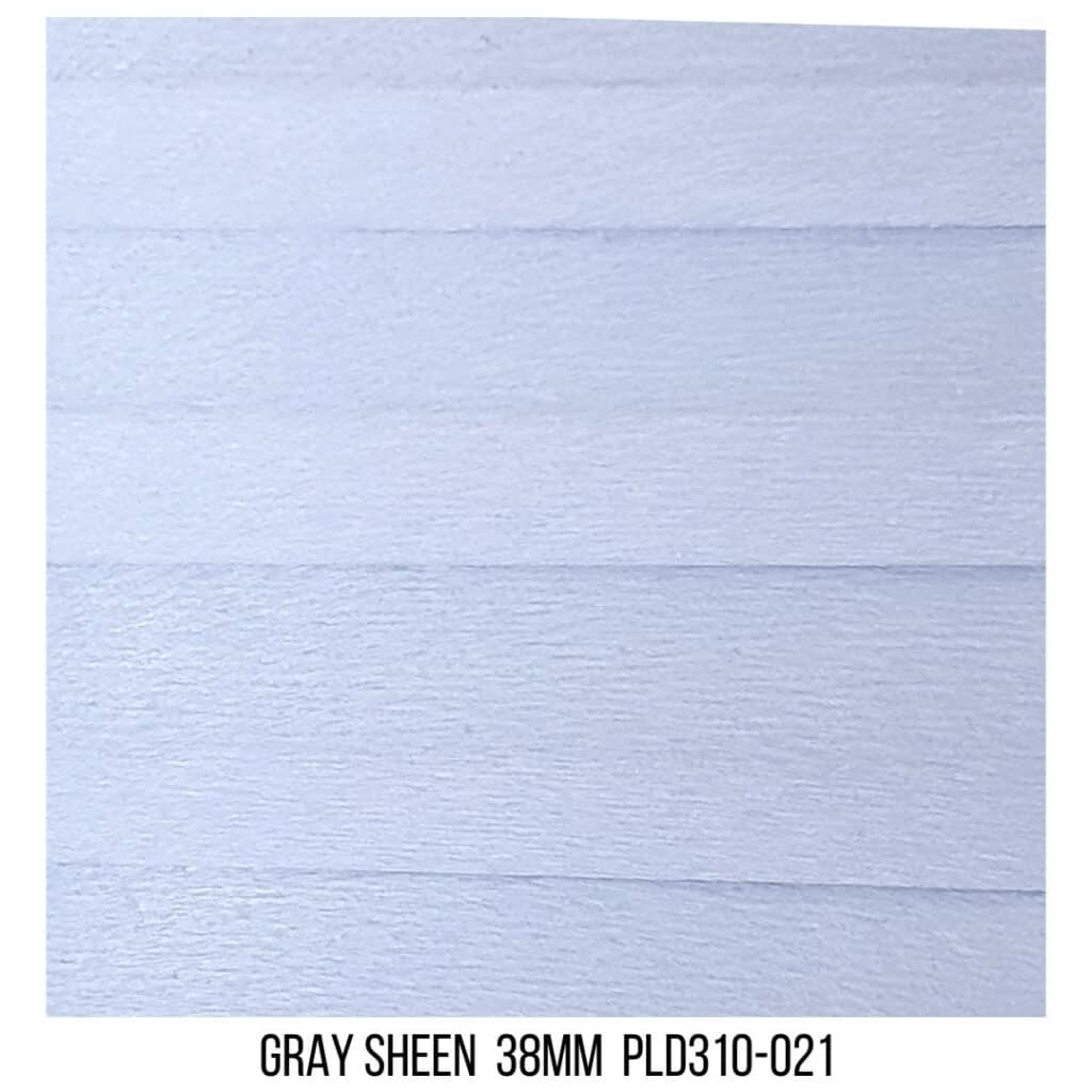 Gray Sheen 38 Light Filtering - Double Cell