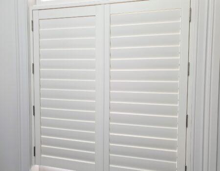 Riviera AL PVC shutters in Devonport