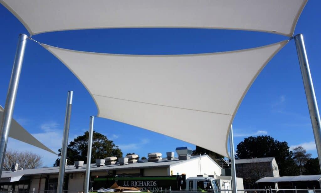 Shade sails - Manurewa High School